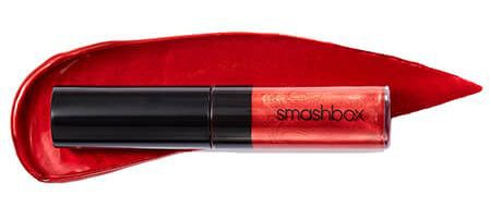 September 2017 Birchbox Freebie - Free Smashbox Cosmetics Be Legendary Liquid Lip Metal in Crimson Chrome Deluxe Sample