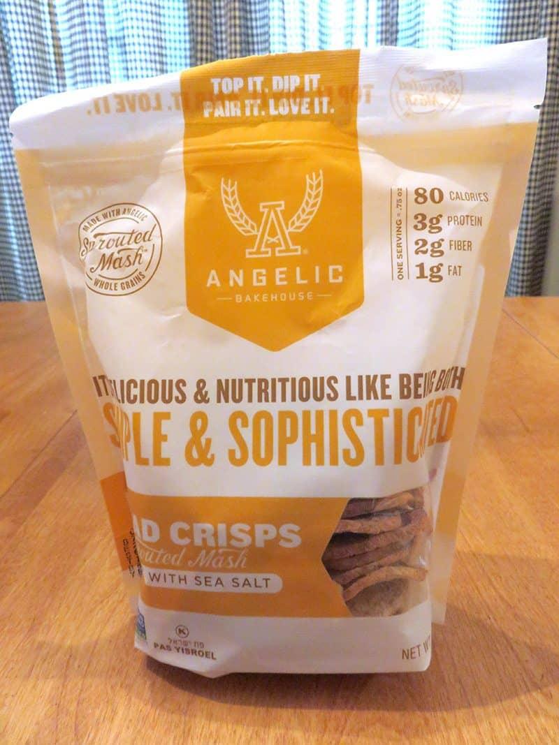 September 2017 Degustabox Review - Angelic Bakehouse Bread Crisps