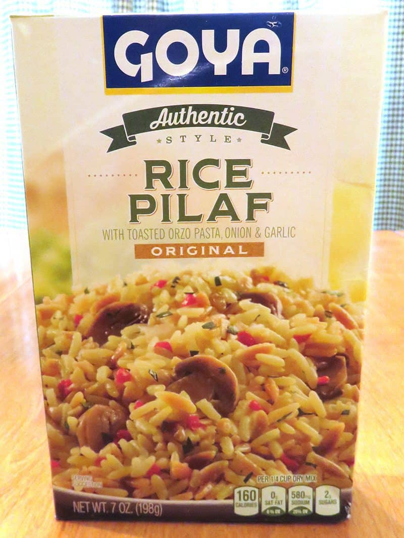 September 2017 Degustabox Review - Goya Rice Pilaf
