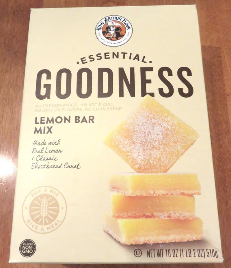 September 2017 Degustabox Review - King Arthur Flour Lemon Bar Mix