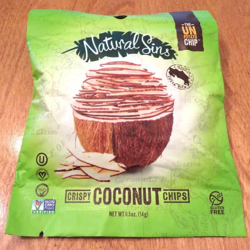 September 2017 Degustabox Review - Natural Sins Coconut Chips