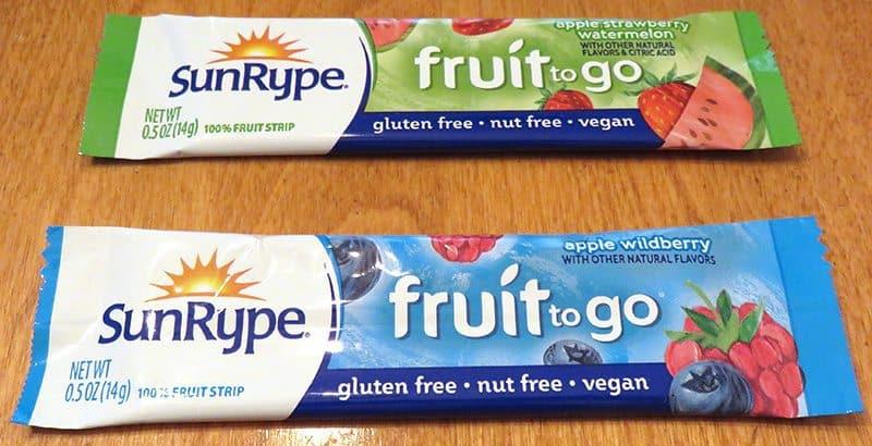 September 2017 Degustabox Review - SunRype Fruit to Go