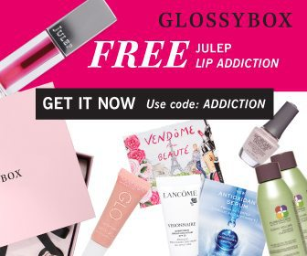 GLOSSYBOX September 2017 Free Gift: FREE Julep Lip Addiction