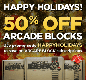 Save 50% Off Monthly Arcade Block Subscriptions