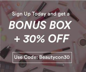 Beautycon Box Black Friday Sale - Bonus Box + 30% Off