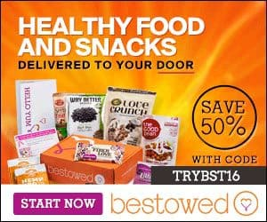 Save 50% Off Bestowed - Your 1st Month of Bestowed is $9.95
