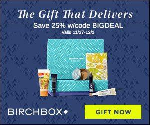 Birchbox Black Friday - Save 25% off All Birchbox Subscriptions