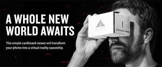 Birchbox Man Free VR Viewer