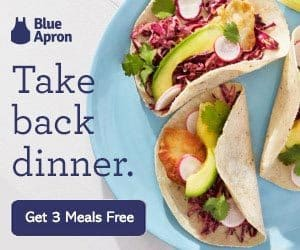 Blue Apron: Get Three Meals Free With Your 1st Meal Delivery Box