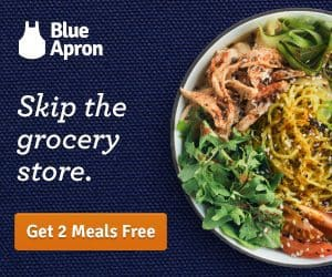 Blue Apron Coupon - Get Two Meals Free