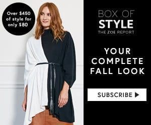 The Zoe Report Box of Style Coupon: $20 Off the Fall Box
