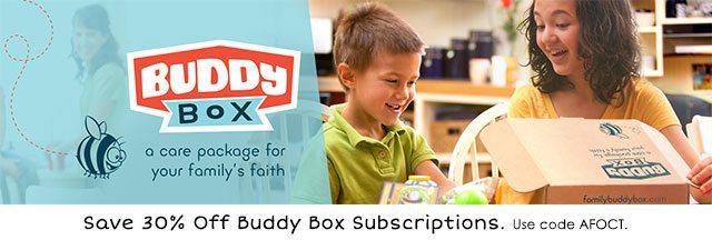 Buddy Box 30% Off Coupon