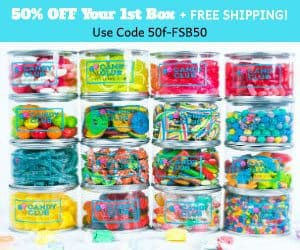 Candy Club 50% Off Your 1st Candy Box