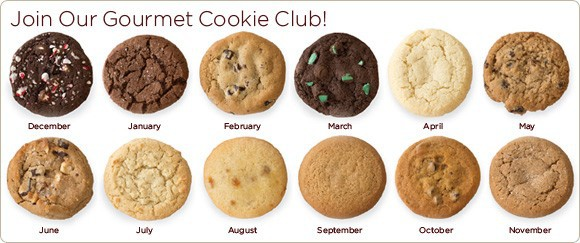 Cheryl's Gourmet Cookie Club Monthly Subscription Box