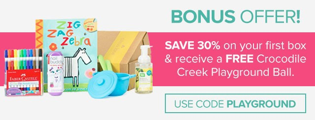 Citrus Lane 30% Off + Free Crocodile Creek Playground Ball