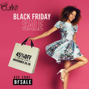 CurlKit Black Friday - Save 45% Off Your 1st CurlKit