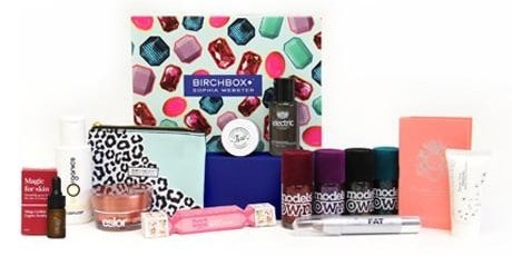 December 2014 Birchbox UK Sophia Webster Box