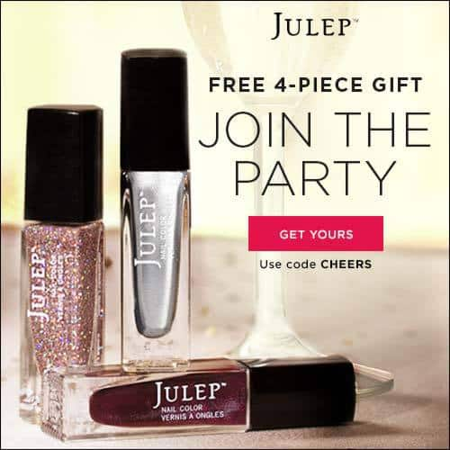 December 2014 Julep Free Bubbly Welcome Box