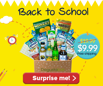 Degustabox Coupon: 50% Off, FREE JIF Peanut Butter + one SURPRISE!