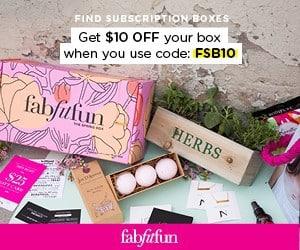 EXCLUSIVE FabFitFun Coupon - Save $10