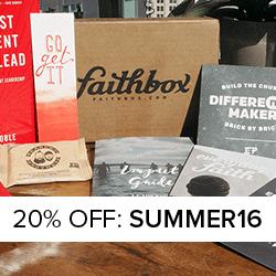 Faithbox Coupon - Save 20%