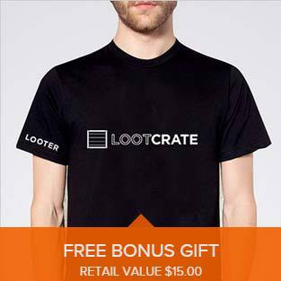 Free Loot Crate T-Shirt 12 Month Subscriptions