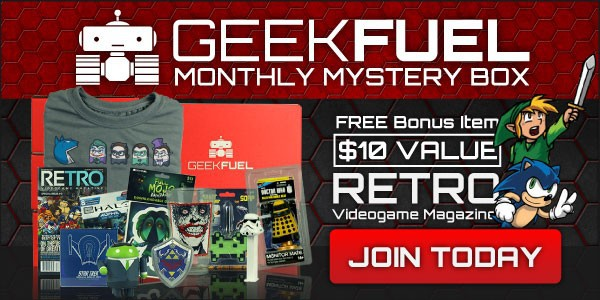 FREE EXCLUSIVE Issue #0 Retro Magazine with New Geek Fuel Subscriptions