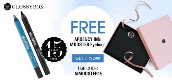 GLOSSYBOX February 2015 Free Gift with Purchase -Ardency Inn Modster Eyeliner