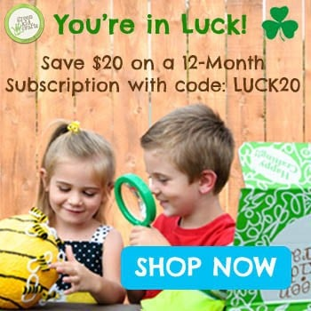 Green Kid Crafts $20 Off St. Patrick's Day Sale