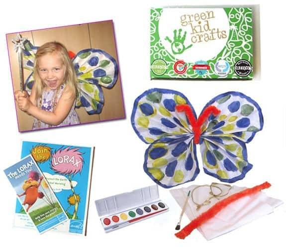 Green Kid Crafts FREE Trial DIY Wings Kit