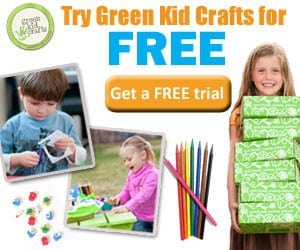 Green Kid Crafts Free Trial Offer