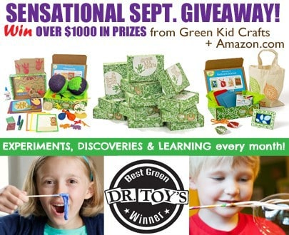 Green Kid Crafts $1000 Giveaway