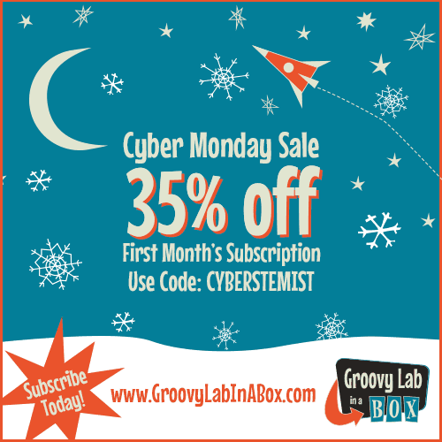 Groovy Lab in a Box Cyber Monday Coupon