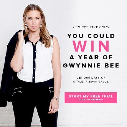 Gwynnie Bee Free Trial - Enter to Win