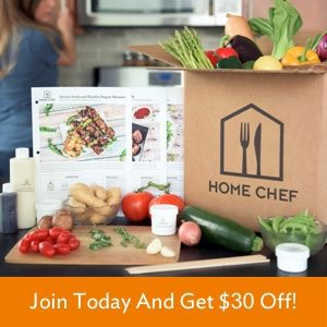 Home Chef: Save $30 Off Your 1st Home Chef Order