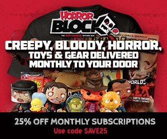 Horror Block 25% Off Monthly Subscriptions