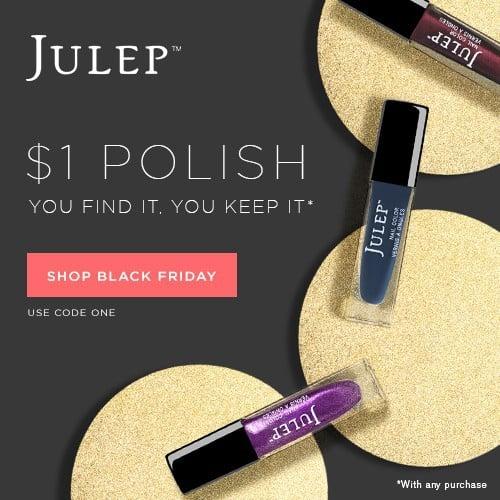 Julep $1 Nail Polish Black Friday