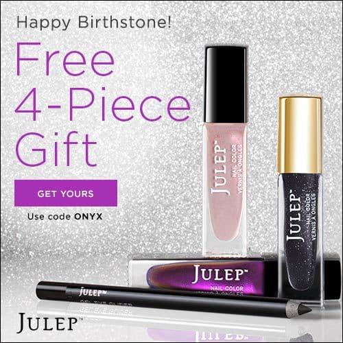 Julep Maven February Birthstone Welcome Box