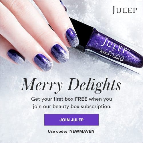 Julep Maven Get a Holiday Welcome Box FREE