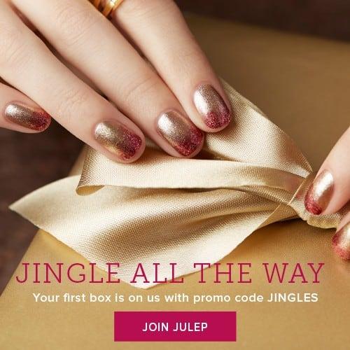 Julep Maven Jingle Bells Welcome Box