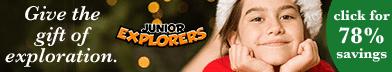 Junior Explorers Black Friday Sale