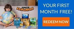 Junior Explorers Free Trial - Junior Explorers First Month Free