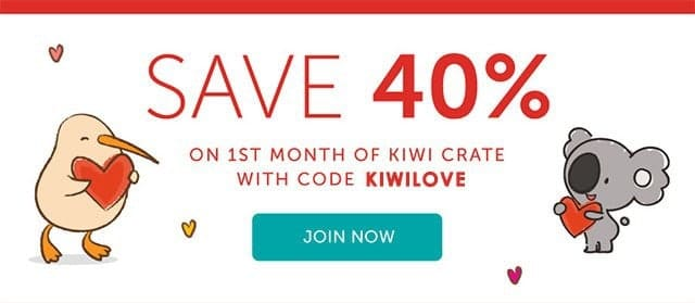 Kiwi Crate Coupon 40% Off