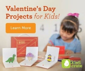 Kiwi Crate Valentine's Day Projects