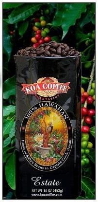 KOA Coffee Kona Coffee Club Monthly Subscription