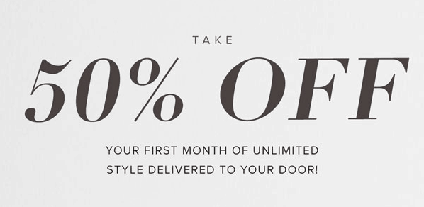 LE TOTE Take 50% off your First Month