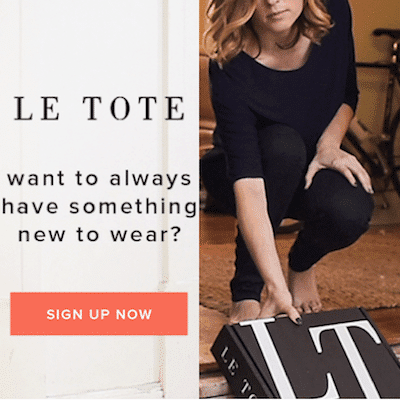 Le Tote: Two Months for the Price of One at Le Tote!