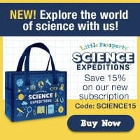 Little Passports: 15% off 12 months of Science Expeditions