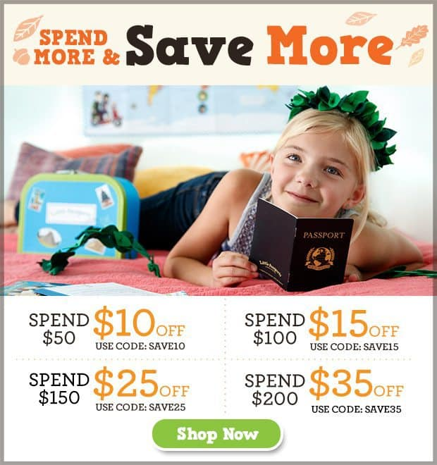 Little Passports Spend More & Save More Sale