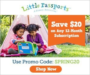 Save $20 Off Any 12 Month Little Passports Subscription